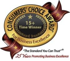 consumers choice award for business excellence